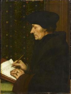 Portrait Erasme Holbein Musée Louvre