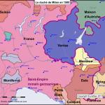 Le duché de Milan en 1500