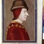 Louis XI Collection de Gaignières BNF