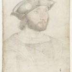 Guillaume Gouffier de Bonnivet 1488-1525 Jean Clouet Inventaire n° MN153;B14 Dessin Musée Condé