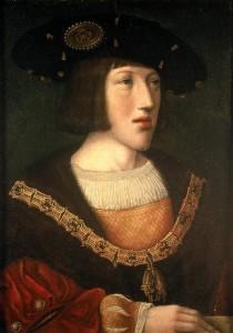 Charles Quint à 15 ans par Barend Van Orley huile sur toile 0,360x0,26 Musée de Brou Inventaire du Louvre