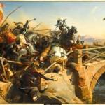Chevalier Bayard sur le pont du Garigliano