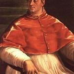 Clément VII (Medicis) Sebastiano del Piombo1485-1547 1526, huile sur toile 145 x 100 cm @ Museo di Capodimonte, Napoli.