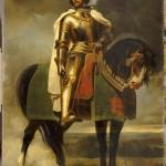 Raymond Montvoisin Copie d'un tableau du Chateau de Beauregard pour le Château de Versailles