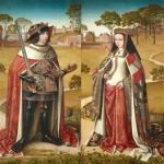 Philippe le Beau et Jeanne la Folle Maitre d'Affligem Musées Royaux des Beaux arts de Belgique