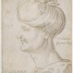 Portrait Sultan Soliman Albrecht Durer Numero d'inventaire NI1286; AI1515 Bayonne Musée Bonnat