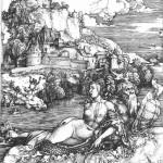 Albrecht Durer Le monstre marin 1498