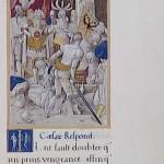La Vengeance de César contre le Sénat de Vannes Commentaires Galliques F.de Rochefort par Godefroy le Batave Ms Fr 764 BNF