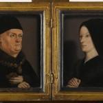 René d'Anjou et Jeanne de Laval Nicolas Froment RF 665 Musée du Louvre