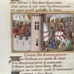 Entrée des Bourguignons à Paris (Mai 1418) Martial d'Auvergne Ms 5054 BNF