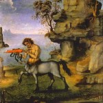 Filippino Lippi Le centaure blessé