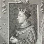 Henry V Gravure Histoire d'Angleterre de Cassell