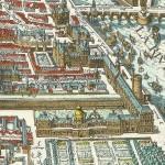 Le Louvre et les Tuileries 1615 Plan de Merian