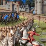 Le chevalier et la mort Jean Colombe