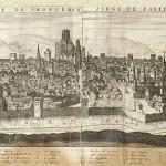 Plan d'Aix en Provence Claude de Chastillon Bibliothèque Mejanes