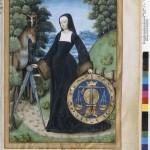 Prudence Traité des vertus cardinales F. de Rochefort par Le Flamand Ms Fr 12247 BNF
