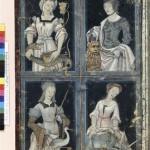 Les quatre vertus cardinales Traité des vertus cardinales F. de Rochefort par Le Flamand Ms Fr 12247 BNF