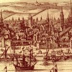 Vue 1 de Bordeaux 1661 par Gaspard Merian