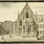 Vue du Parlement et de la Chambre des Comptes de Dijon