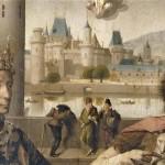 Le Louvre et le Petit Bourbon Détail de la Crucifixion