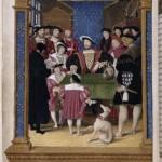 François 1er et sa cour Macault