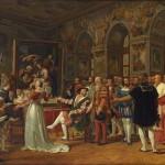 François 1er recevant la Ste Famille de Raffael