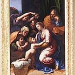 Sainte Famille Raphael offert par Leon X