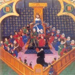 Scènes 2 du Parlement de Paris 14ème siecle