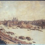 Vue de Paris en 1588