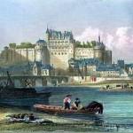 Le château d'Amboise par Adolphe Rouargue 1856 ©