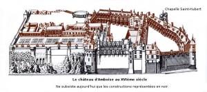 Amboise Androuet du Cerceau Initial et actuel