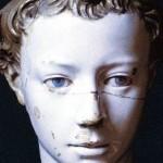 Lucca della Robia portrait de jeune garçon Museo Civico Naples