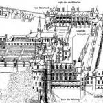 Plan d'Amboise de J.A du Cerceau annoté