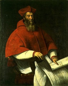 Cardinal Jacopo Sadoleto Cancellieri Source araldicavaticana.com