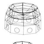 Construction du dôme par anneaux successifs