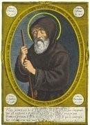 François de Paule par Jean Bourdichon 1507 Copie de l'original au Vatican