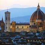 Le dôme de la cathédrale Santa Maria del Fiore à Florence