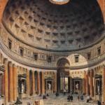 Intérieur du Panthéon Giovanni Paolo Panini (1692-1765) National Gallery of Art