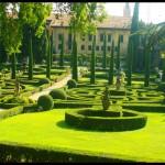 Jardin renaissance Palais Giusti à Verone
