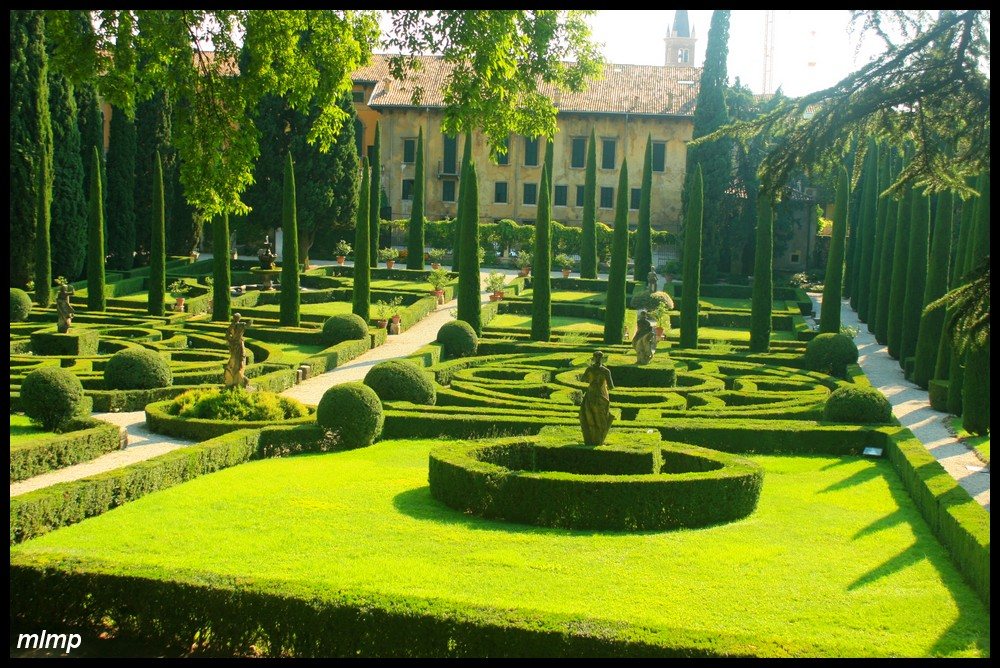 La renaissance amboise le jardin de ch teau gaillard for Jardin italien