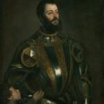 Marquis del Vasto par Le Titien Galerie des Offices