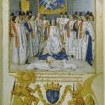Jean Fouquet Manuscrits Français n°19819 Ordre de Saint Michel BNF