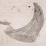 """Spirale de briques en """"arête de poisson"""""""