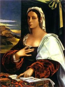 Vittoria Colonna par Sebastiano del Piombo