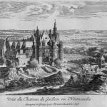 Vue du Chateau Gaillon Israel Sylvestre 1658