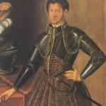 Alexandre de Medicis en armure Galerie des Offices