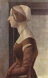 Alfonsina Orsini Botticelli épouse de Pierre II de Medicis