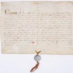 Bulle du pape autorisant la Sorbonne