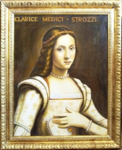 Clarice de Medicis épouse de Philippe Strozzi Coll Privée
