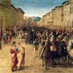 Entrée de Charles VIII à Florence Francesco Granacci Offices (Medicis)